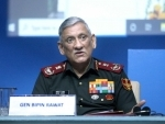 China and Pakistan are indulging in proxy war against India to disturb J&K: General Bipin Rawat