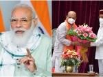 PM Modi congratulates BS Bommai on taking oath as Karnataka CM