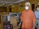 LG Manoj Sinha visits Central University Jammu