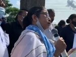 West Bengal: Mamata Banerjee aerially surveys flood-affected districts