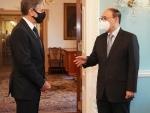 Foreign Secretary Harsh Vardhan Shringla meets Antony Blinken, discusses Afghanistan issue
