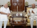 President Kovind, Narendra Modi wish nation on Holi