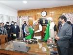 Home Minister Amit Shah flags off Srinagar-Sharjah flight