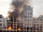 Two CPM party offices set ablaze in Agartala, party blames 'BJP mobs'