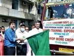 Jammu and Kashmir: Group of 40 farmers flagged off for exposure tour within UT