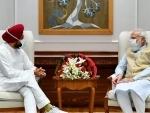 Punjab CM Channi meets PM Modi, asks to repeal farm laws