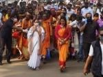 'I am still in Trinamool Congress': Rebel Lok Sabha MP Satabdi Roy after meeting top brass