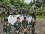 NSCN (IM) camp busted in Nagaland, four cadres apprehended with arms