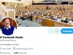Twitter removes 'blue tick' from Indian Vice President Venkaiah Naidu's personal account
