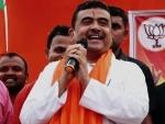 BJP candidate Suvendu Adhikari files nomination from Bengal Poll epicentre Nandigram