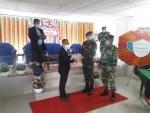 Assam Rifles felicitate COVID warriors in Manipur's Tamenglong