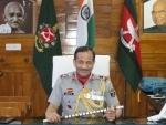 Lieutenant General Pradeep Chandran Nair takes charge as Director General Assam Rifles