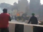 Farmers' 'peaceful' tractor rally turns violent in Delhi, police outnumbered