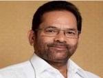 Mukhtar Abbas Naqvi appointed as Deputy Leader of House in Rajya Sabha