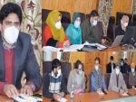 Jammu And Kashmir: Status of COVID19 control measures reviewed at Pulwama