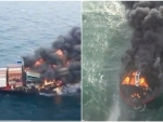 India helps Sri Lanka Navy douse fire on container ship MV X Press Pearl