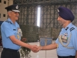 Dharmendra Singh Dangi takes charge Command of Air Force station Tezpur