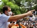 Will fight against Modi's divisive ideology: Rahul Gandhi