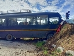 Mizoram: 7 injured after police bus meets with an accident
