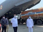Telangana airlifts eight Oxygen tankers to Odisha