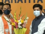 Jolt to Congress as former Union Minister Jitin Prasada joins BJP
