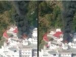 Massive fire breaks out near Jammu's Vaishno Devi shrine