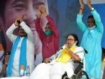 Mamata Banerjee accuses BJP of playing