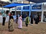 Assembly polls underway in Puducherry