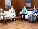 PM Modi, Sonia Gandhi attend Speaker Om Birla's meeting after Lok Sabha session ends abruptly