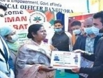 Union MoS Bhoumik E-inaugurates projects in Bandipora, Kashmir
