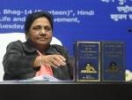 Ex- Uttar Pradesh CM Mayawati terms setting up of Ambedkar memorial 'drama', UP government hits back