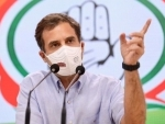 Pegasus: Rahul Gandhi says the move was politically motivated