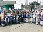 Chinar Air Defence Brigade holds event for children at Khundru