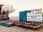 Ukraine receives first COVID-19 vaccine shipment from India
