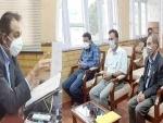 Kashmir: Traders Federation Baramulla calls on Advisor Baseer Khan, highlight demands