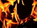 Mumbai: Massive fire after cylinder blast in Andheri, four injured