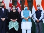 S Jaishankar, Rajnath Singh meet Australian counterparts for inaugural 2+2 dialogue