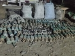 Police seize large numbers of used explosives, shells, ammunitions in Assam's Baksa