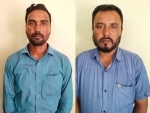 Police arrested two persons in connection with Dholpur violence