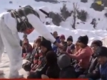 Jammu and Kashmir: Indian Army hosts awareness cum demonstration camp on snow avalanches in Baramulla