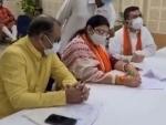 Bengal: BJP's Bhabanipur bypoll candidate Priyanka Tibrewal files nomination