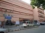 Ram Manohar Lohia Hospital doctors protest against Ramdev