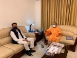 Jitin Prasada meets CM Yogi Adityanath in his first to UP after joining BJP
