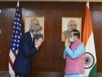 Prakash Javadekar and US envoy John Kerry discuss climate finance, joint research