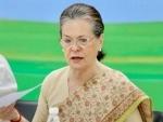 19 Opposition parties attend Sonia Gandhi's virtual meet