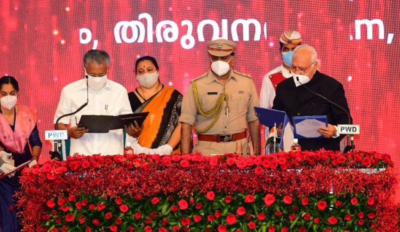 Pinarayi Vijayan swears in as Kerala CM for second time