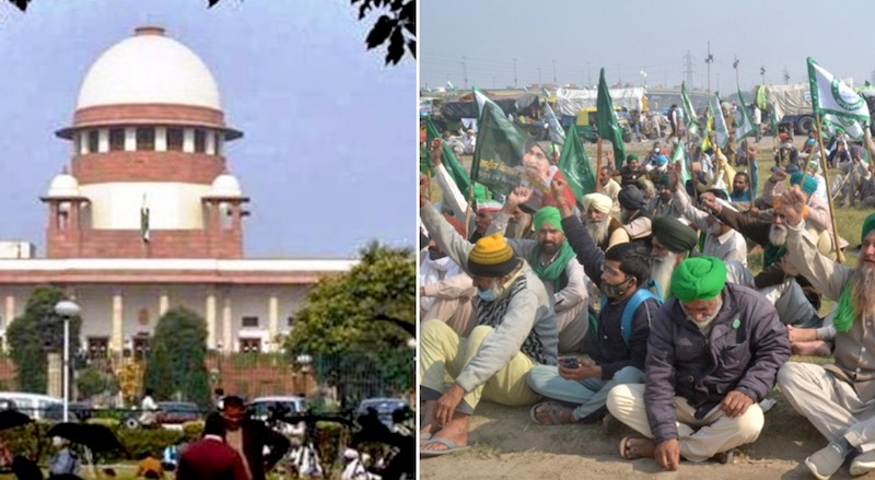 Supreme Court suspends farm laws at the core of farmers' protest, orders a committee for negotiations