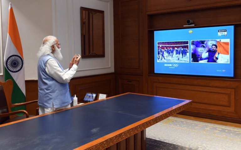 'Let's cheer': PM Modi urges countrymen to encourage Indian athletes at Tokyo Olympics