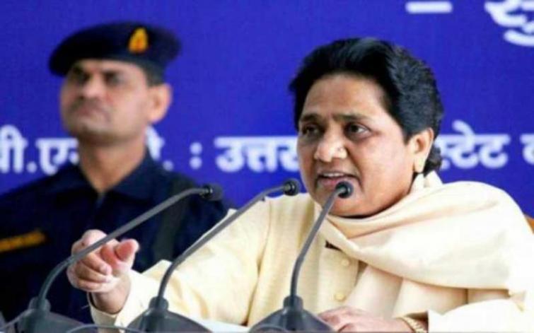 Mayawati attacks Yogi govt on development and communal agenda
