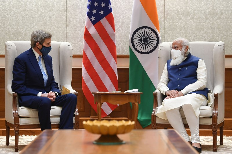 John Kerry meets PM Modi, Paris Agreement issue discussed